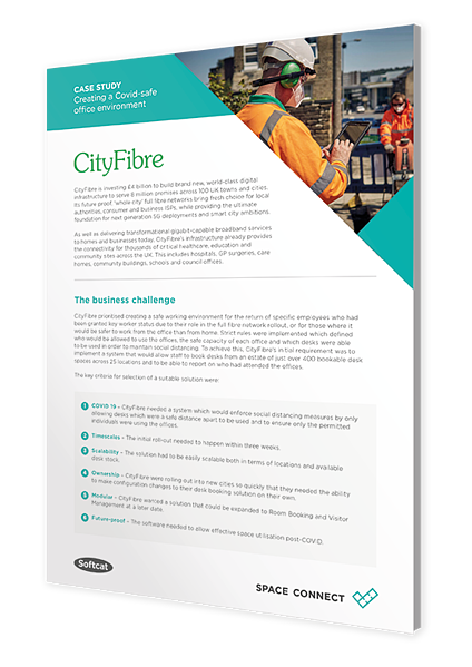 Softcat Cityfibre caset study cover