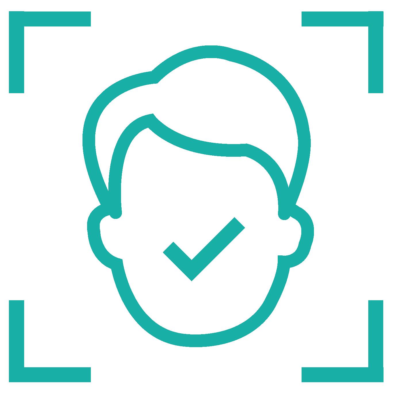 facial recognition icon