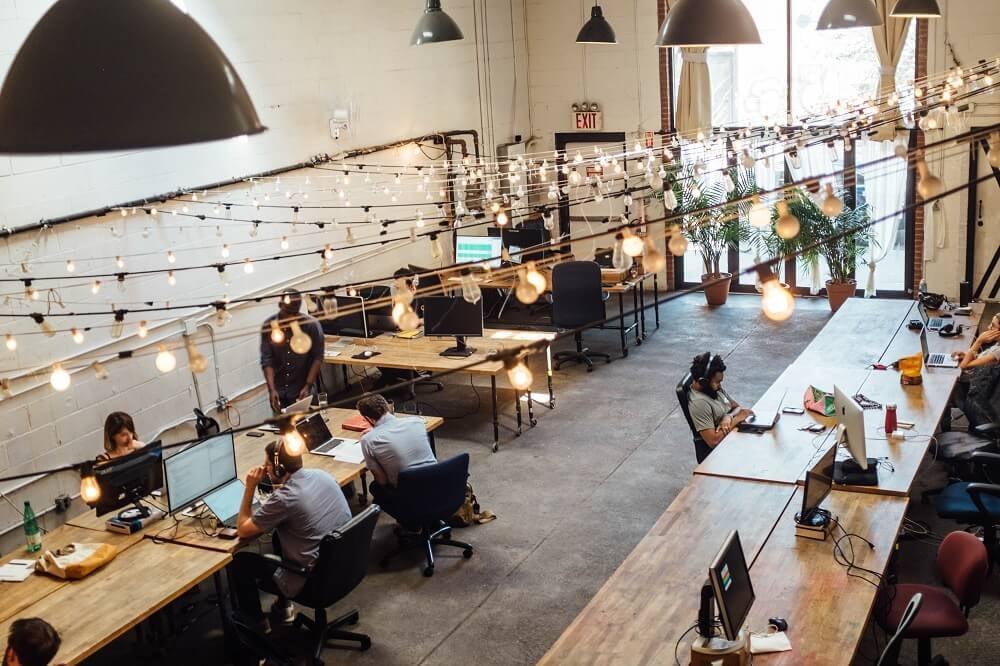hotdesking - open office