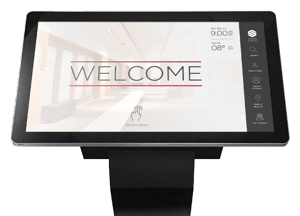 visitor management welcome screen main 1